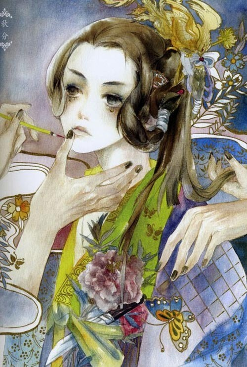 阮筠庭手绘作品欣赏