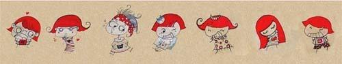 武汉不停插画工作室插画作品欣赏