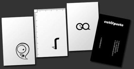 20个创意名片设计欣赏