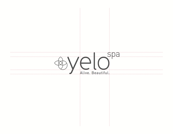 品牌设计欣赏《yelo spa》