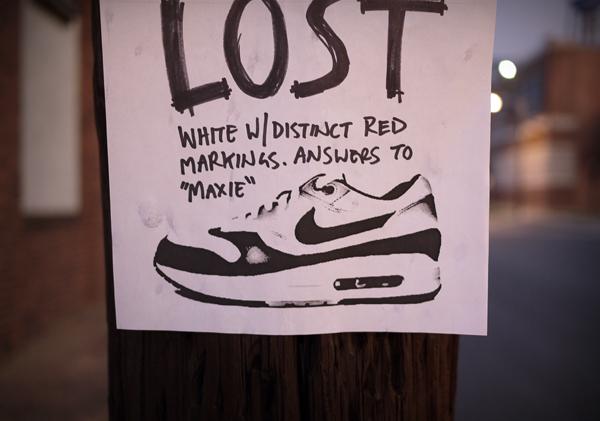 Matt Stevens 耐克鞋子的广告图形插画欣赏