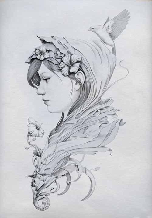 Diego Fernandez 细腻的手绘插画