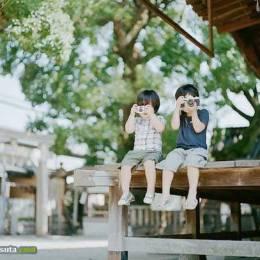 Hideaki Hamada 家庭唯美照片欣赏