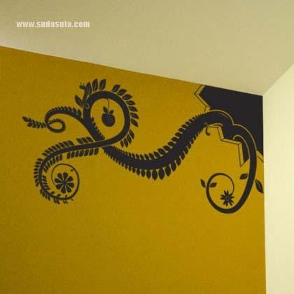 来自Hu2的创意墙贴设计
