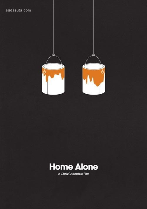 13张极简主义电影海报设计