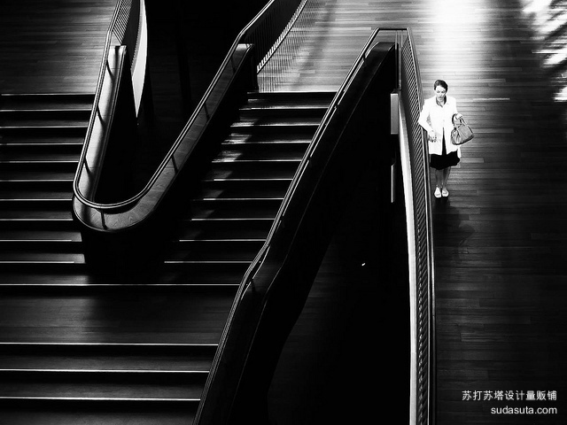 Martin Weibel 黑色与白色的街道