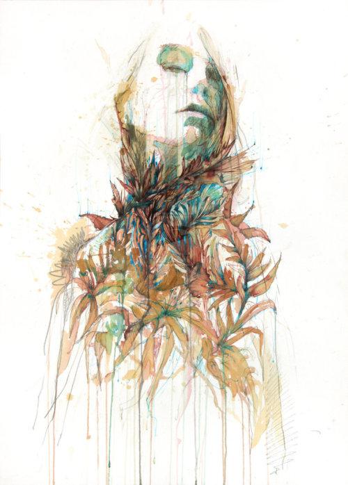Carne Griffiths 插画作品欣赏