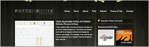 27个可以下载到免费无缝图案背景的网站