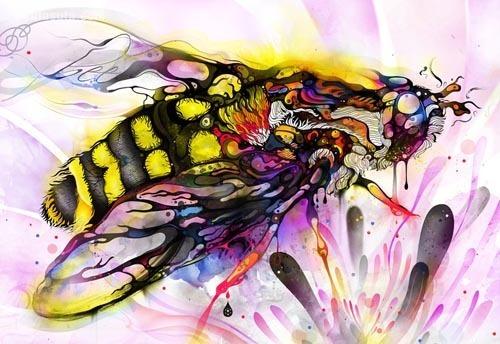 灵感的蝴蝶 创意作品欣赏