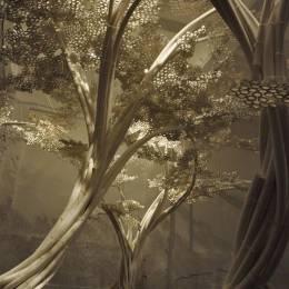 虚设森林,唤起人们环保意识的造型艺术