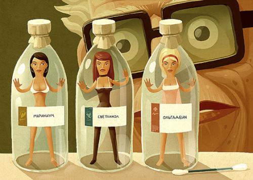 来自Andrey Gordeev的很有个性的插画作品欣赏