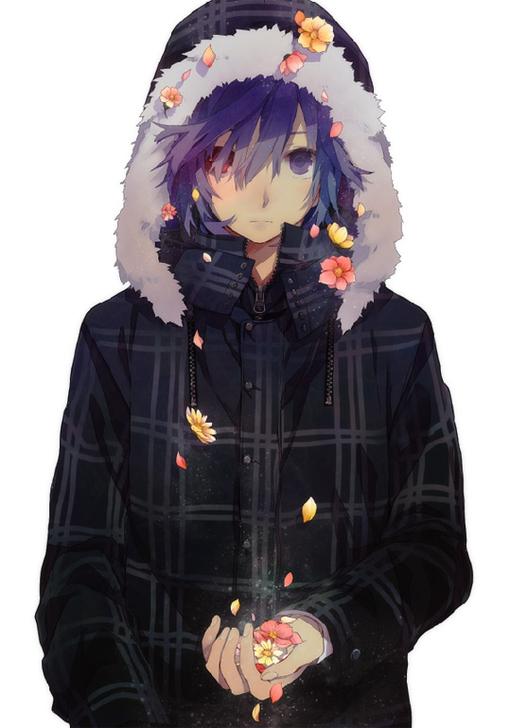 日式漫画CG欣赏 花间少年