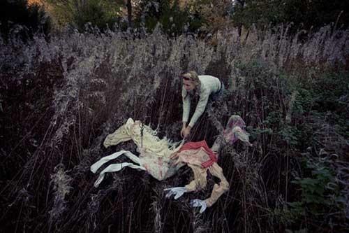 Ulrika Kestere 女孩与七只隐形马