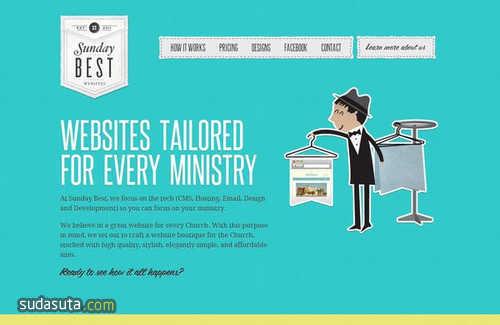 每周网页设计灵感分享 N.008