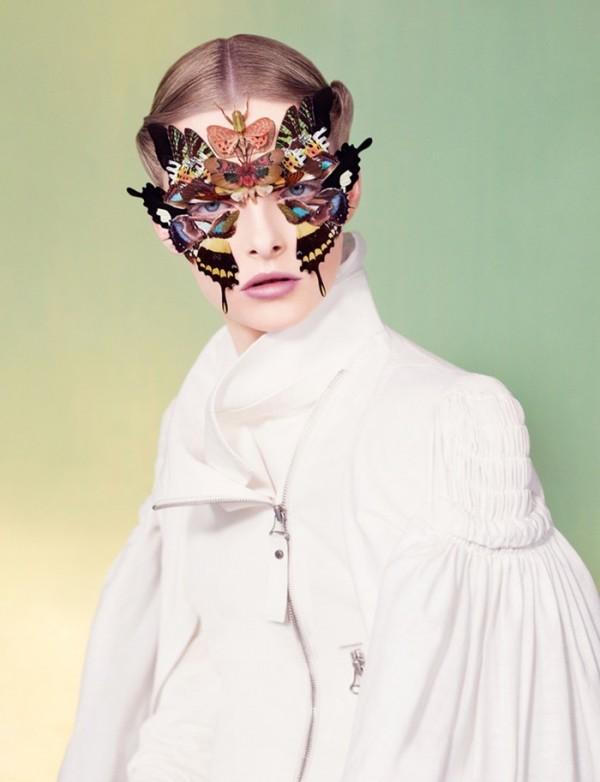 Alexandros Pissourios 蝴蝶的时尚