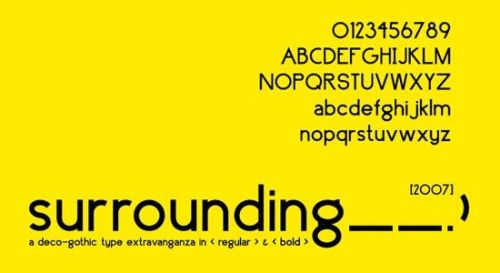19个新鲜的英文字体免费下载