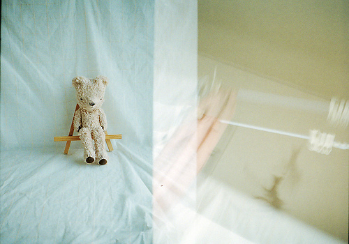 泰迪熊的茶杯