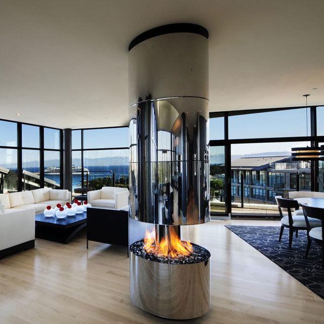 360º Gas Fireplace By Smith Designs