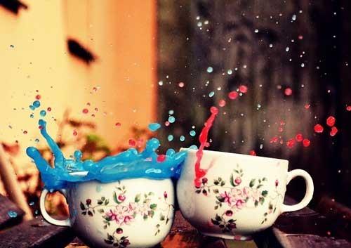 Mateusz 色彩冲撞的茶杯 lomo欣赏