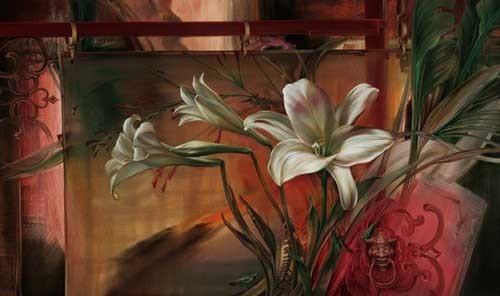 Vie Dunn-Harr 手绘花卉插画欣赏