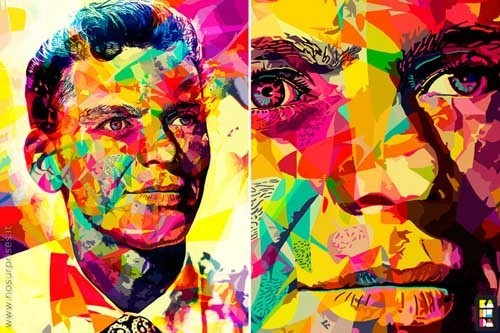 Alessandro Pautasso 喷溅的色彩