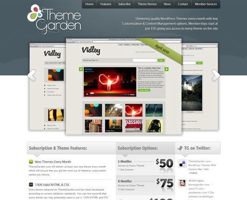 Wordpress创意站点欣赏