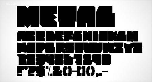 40个高质量的最新的免费字体下载