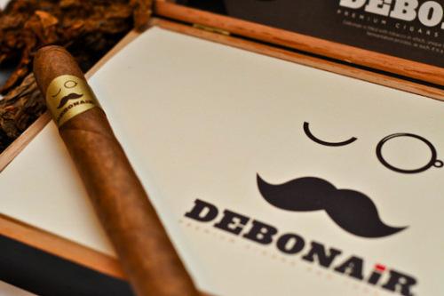 Debonair Cigars 雪茄包装设计