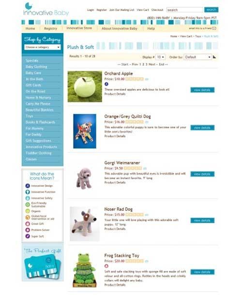 35个极好的电子商务网站截图