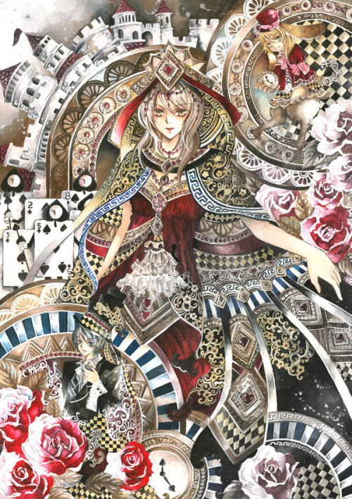*laverinne 超级华丽的日式漫画