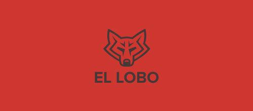 创意LOGO欣赏 狼