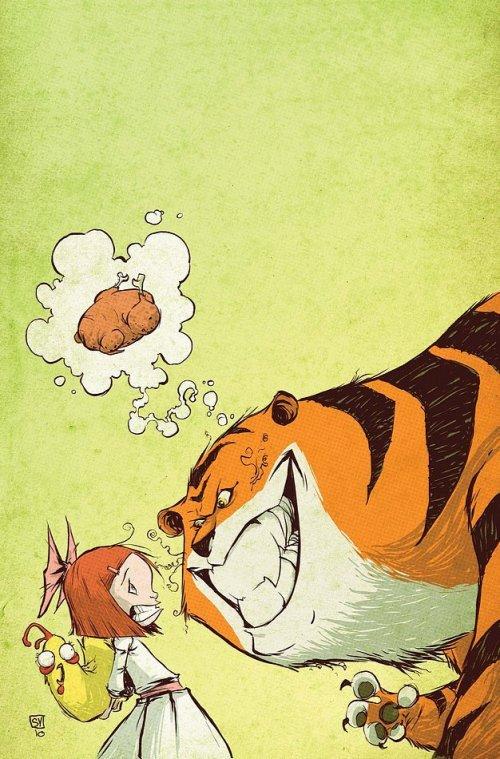 Skottie Young 卡通插画作品欣赏
