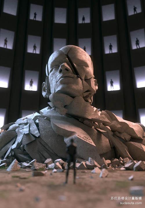 Martikanis Adam 惊叹之作3D立体艺术