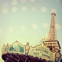 巴黎印象 旋转的摩天轮