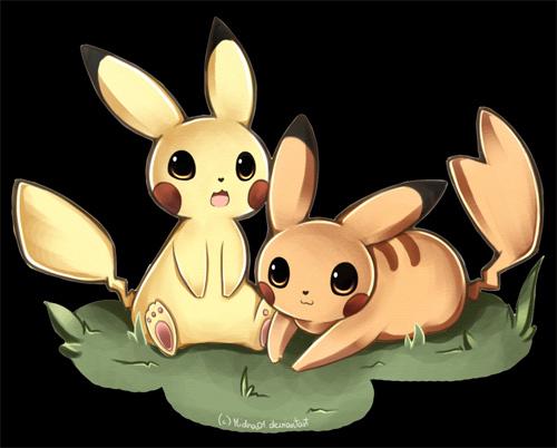 皮卡丘 Pikachu 主题动漫插画欣赏