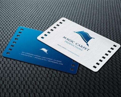 Magic Carpet Productions Business Card