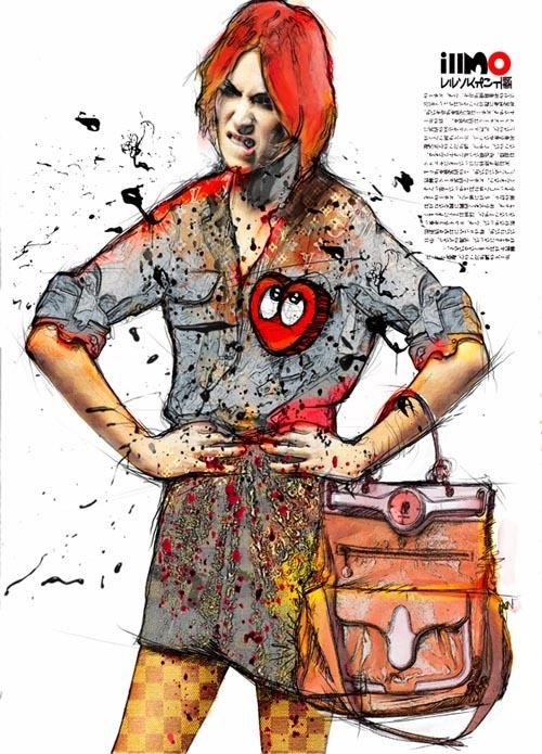 来自Phoks.的时尚插画欣赏