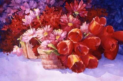 27张非常漂亮的水彩画