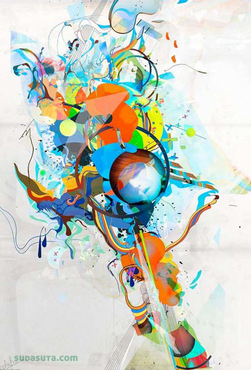 来自Archan Nair的眩目的数字艺术作品欣赏