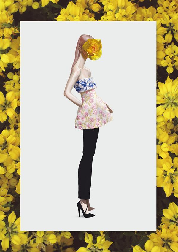 Ignasi Monreal 超现实主义时尚插画欣赏