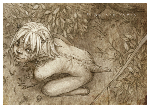 Serena Verde 插画作品欣赏