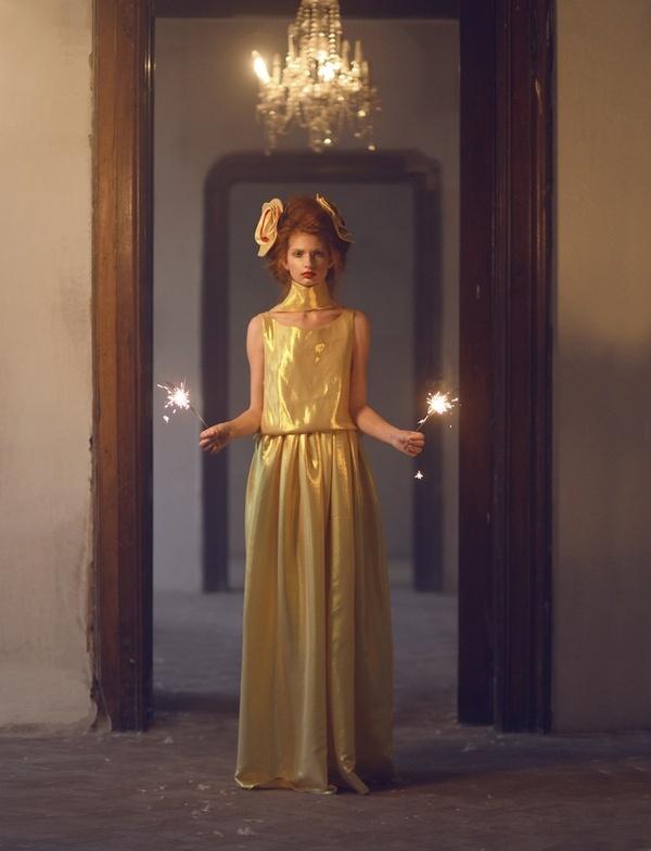 《Princess》复古时尚摄影作品欣赏