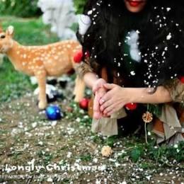埃子的时尚摄影《孤单圣诞节》