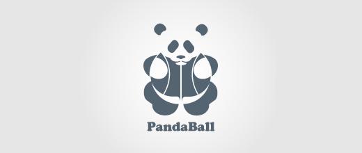 创意LOGO欣赏 熊猫很有爱