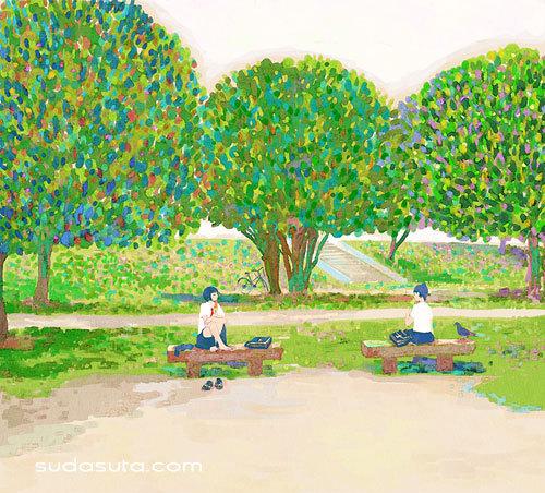 水色印象 日本漫画欣赏