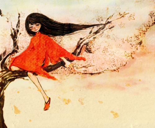 nancy zhang 浮萍中的女孩子