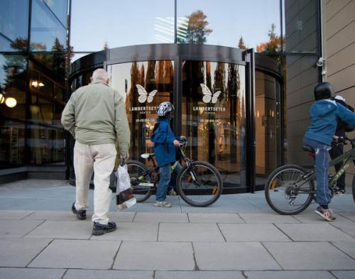 《Obos Forretningsbygg 购物中心》品牌设计