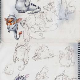 Vadim 卡通造型设计