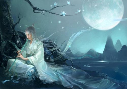 《墨草湖 渲染天下》非墨的精美CG插画欣赏
