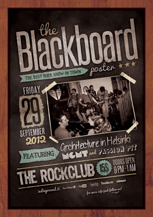 http://www.behance.net/gallery/Blackboard-Poster/4562021